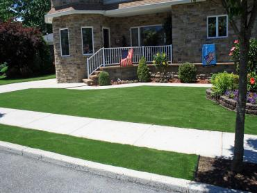 Artificial Grass Photos: Artificial Grass Carpet Murrieta, California Backyard Deck Ideas, Front Yard Landscape Ideas