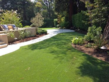 Artificial Grass Photos: Artificial Grass Installation Aguanga, California Rooftop, Backyard Designs