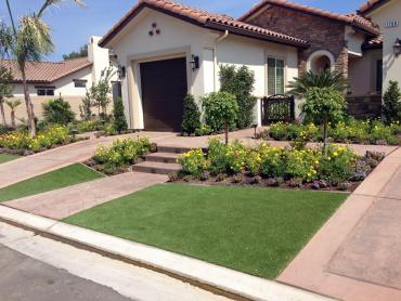 Artificial Grass Photos: Artificial Grass Installation Vista Santa Rosa, California Rooftop, Front Yard Landscaping