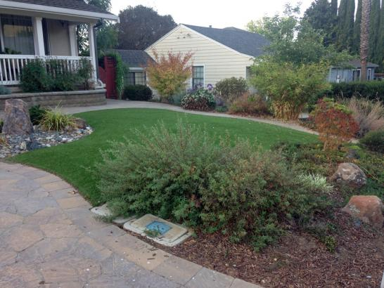 Artificial Grass Photos: Artificial Turf Cost Lakeview, California Paver Patio, Front Yard Landscaping