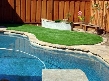 Artificial Grass Photos: Fake Grass Carpet Sun City, California Paver Patio, Backyard Landscaping